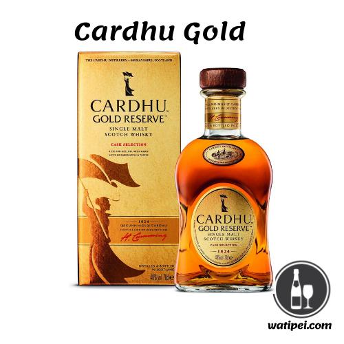 2. Cardhu Gold Reserve Whisky Escocés