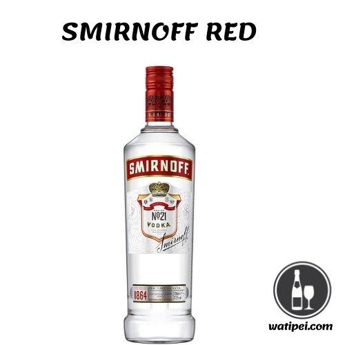 9. Smirnoff Red