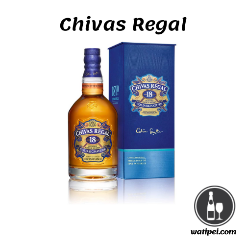 9.Chivas Regal 18 años Whisky Escocés de Mezcla Premium
