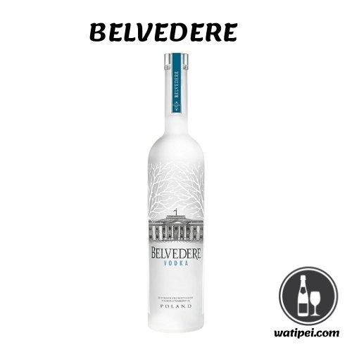 7. Vodka Belvedere