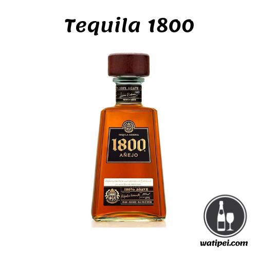 5.  Tequila 1800 añejo