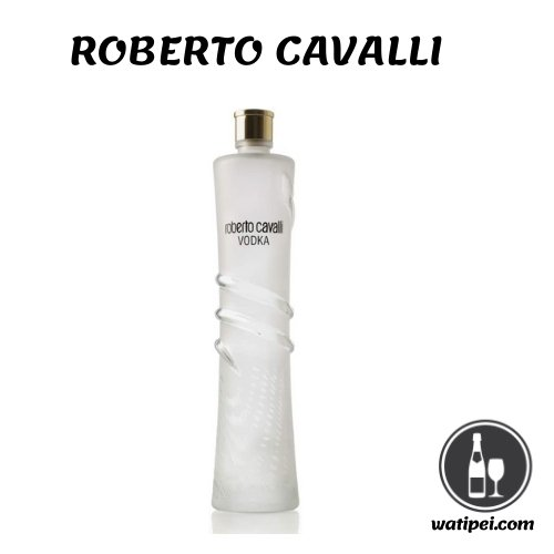 6. Roberto Cavalli Vodka