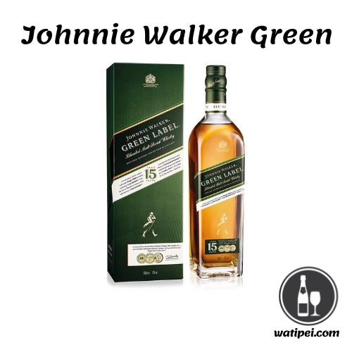 5.  Johnnie Walker Green Whisky Escocés