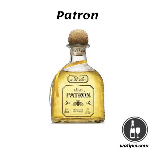 3. Patrón Añejo Tequila