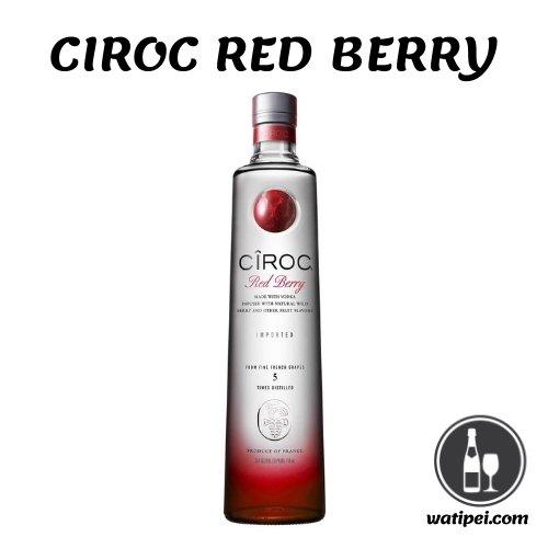 2. Ciroc Red Berry Vodka - 700 ml