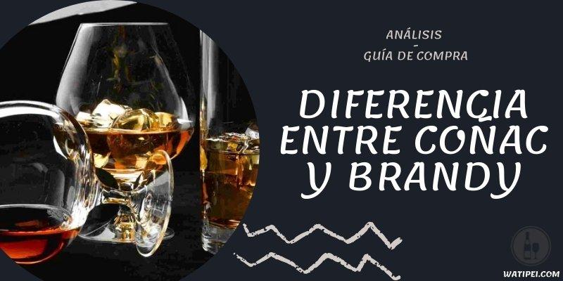 DIFERENCIA ENTRE COÑAC Y BRANDY