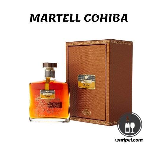 4. Coñac Martell Cohiba