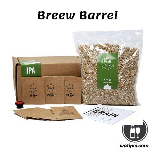 4. Brewbarrel's Braufässchen set para fabricar cerveza