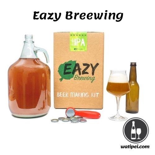 5. Eazy Brewing pack para hacer cerveza