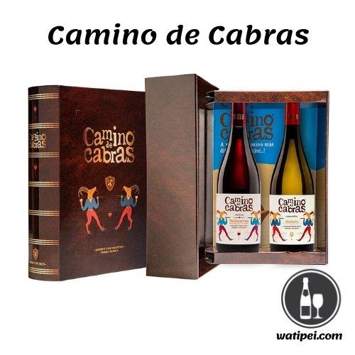 5. Estuche vino gourmet Camino de Cabras