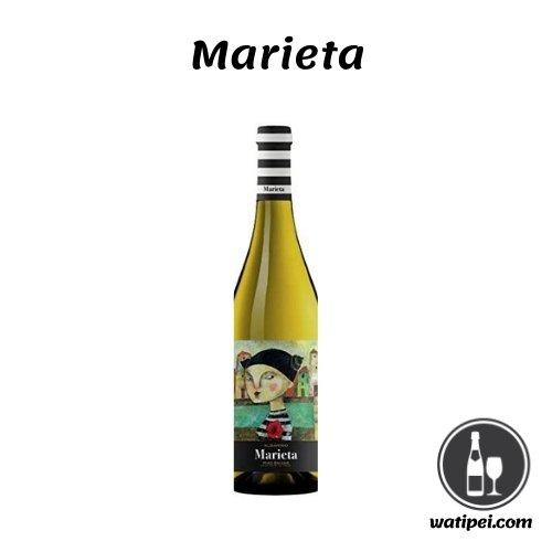 4. Marieta vino blanco albariño